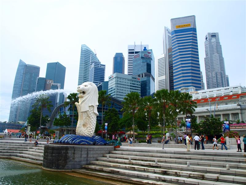 Merlion Park Singapore - AspirantSG