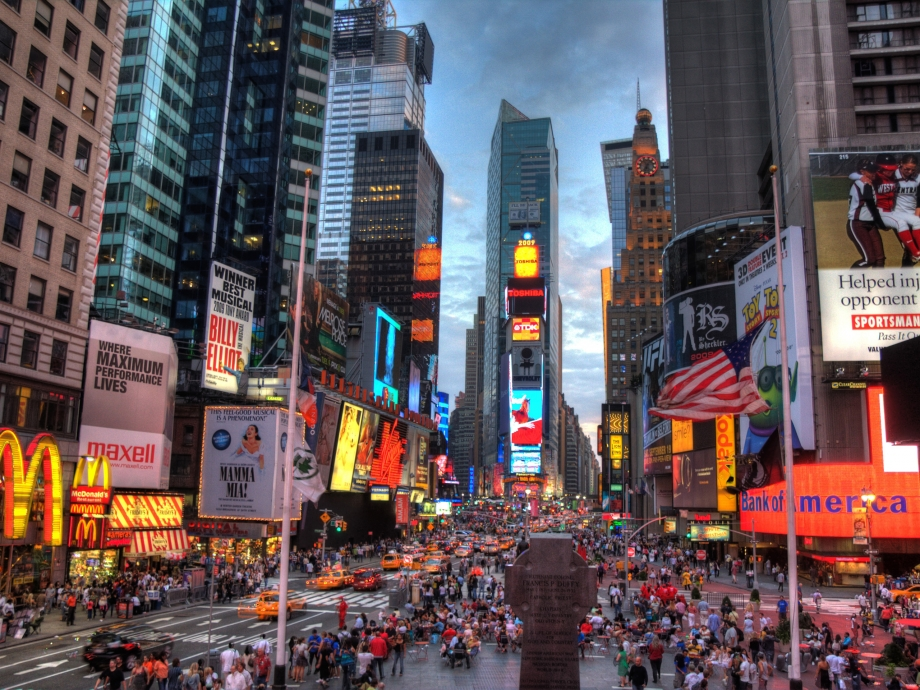 New York Times Square - AspirantSG