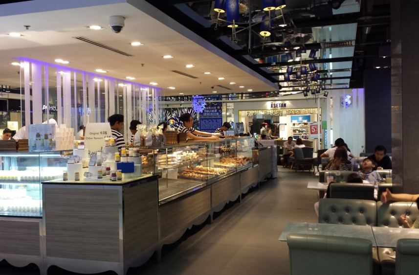 Paris Baguette Cafe Singapore - AspirantSG
