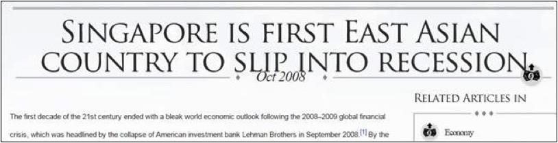 Singapore Slip Into Recession - AspirantSG