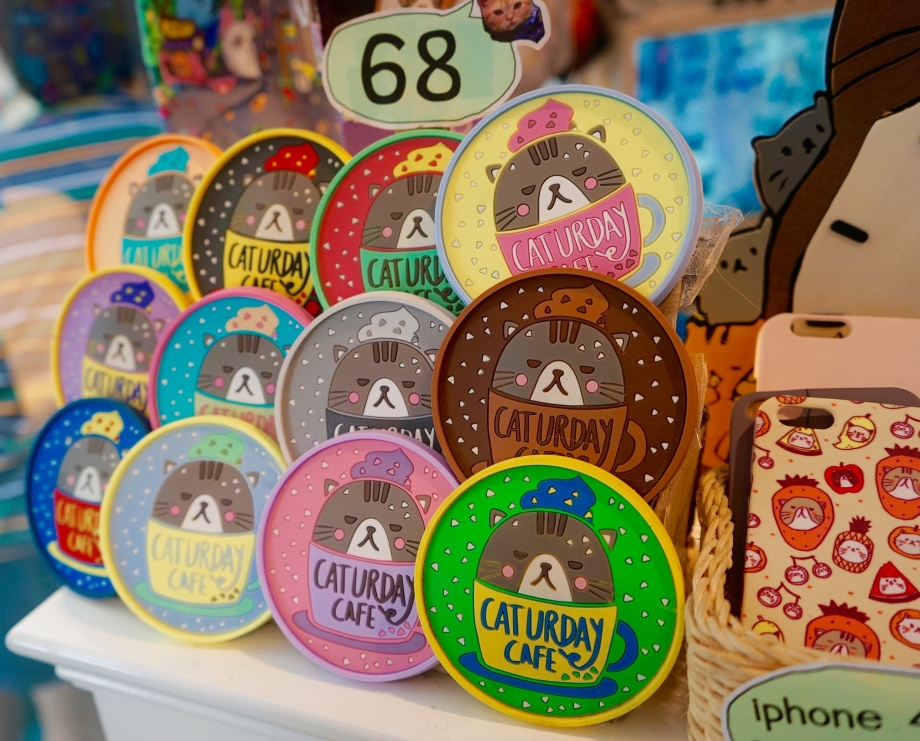 Caturday Cafe Collectibles Bangkok - AspirantSG