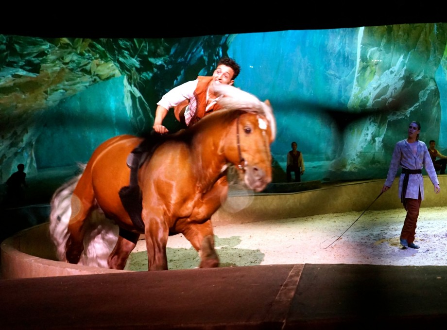 Watching Cavalia Through Transitions Lens - AspirantSG