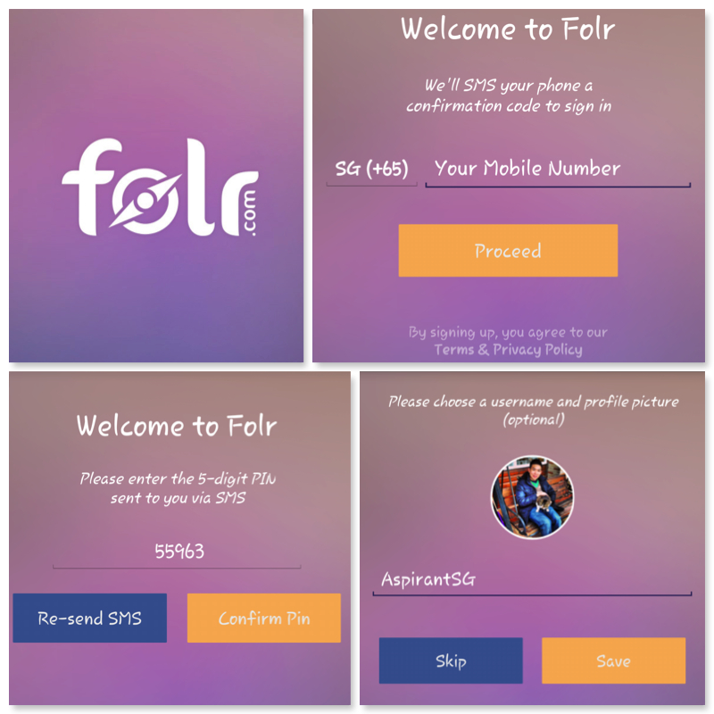 Folr Download & Set Up - AspirantSG