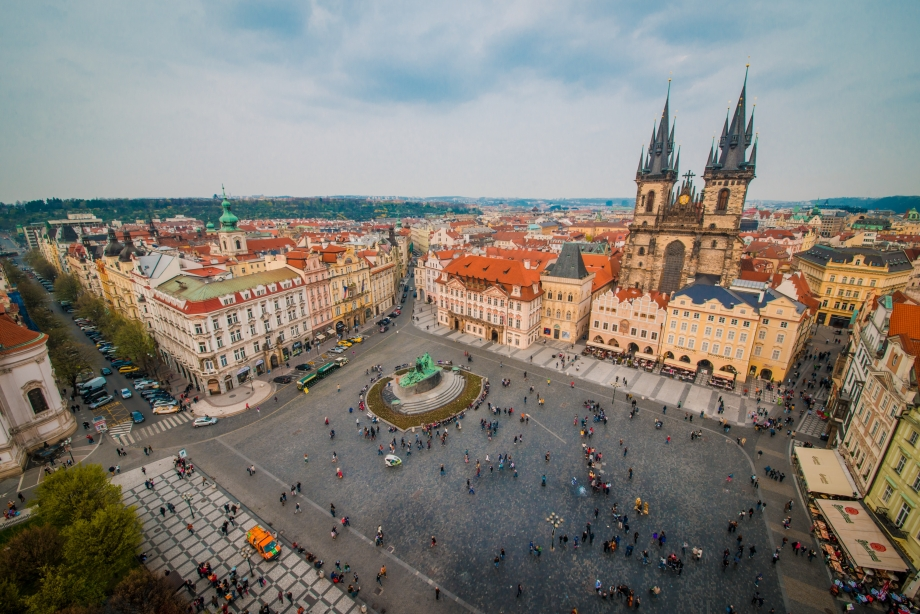 Prague Winter Square - AspirantSG
