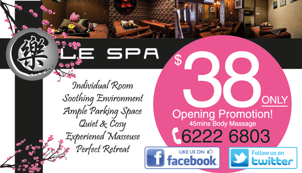 Le Spa Opening Promotion