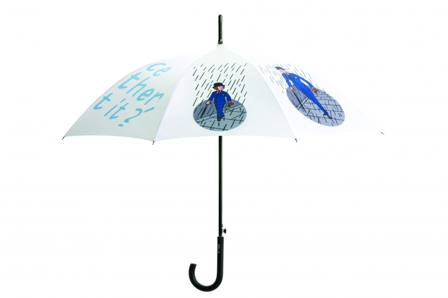 Umbrella Side Without Raindrops - AspirantSG