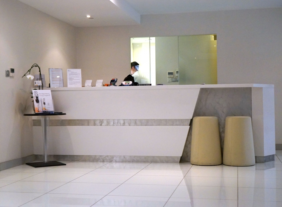 EPW Laser + Medical Aesthetics Clinic Main Reception Area - AspirantSG