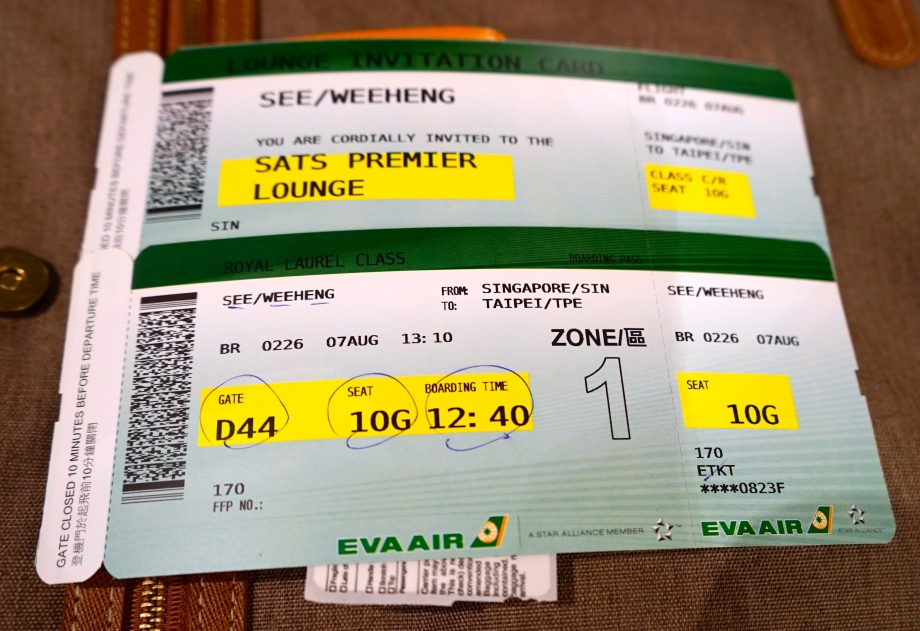 Tickets To Eva Air Royal Laurel Class