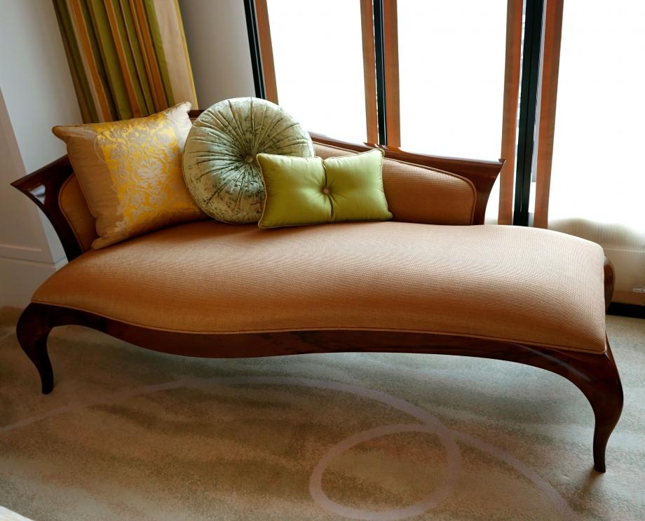 Couch At Mandarin Oriental Taipei - AspirantSG