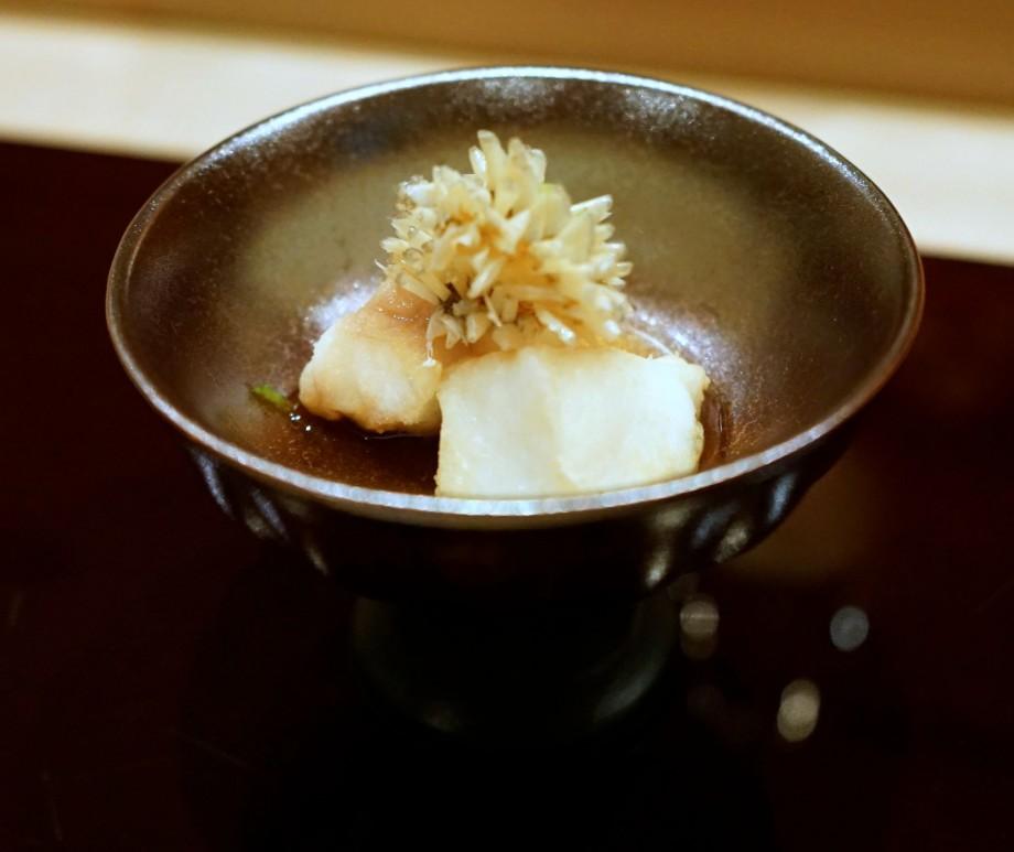 Ki-Sho Japanese Fine Dining Deep fried Amadai - AspirantSG