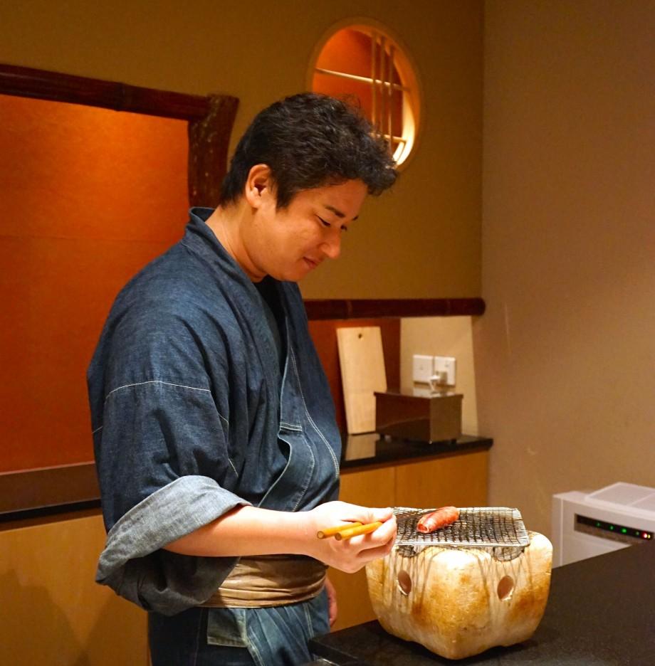 Ki-sho Grilling Of Wagyu Beef