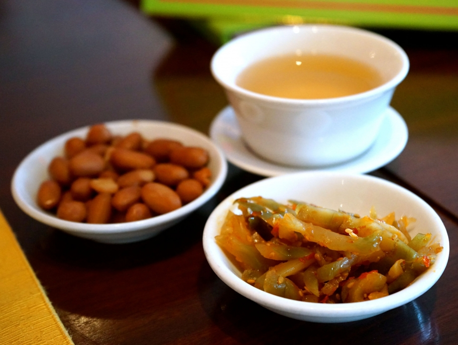 Table Snacks & Tea At Szechuan Court And Kitchen - AspirantSG