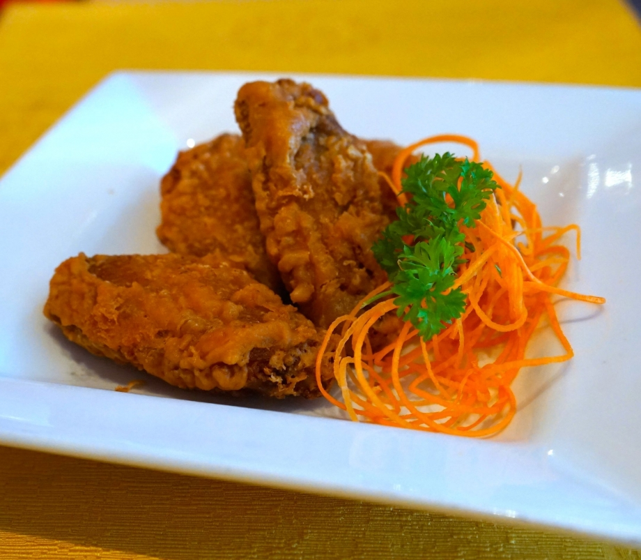Crispy Chicken Wing with Shrimp Paste - AspirantSG