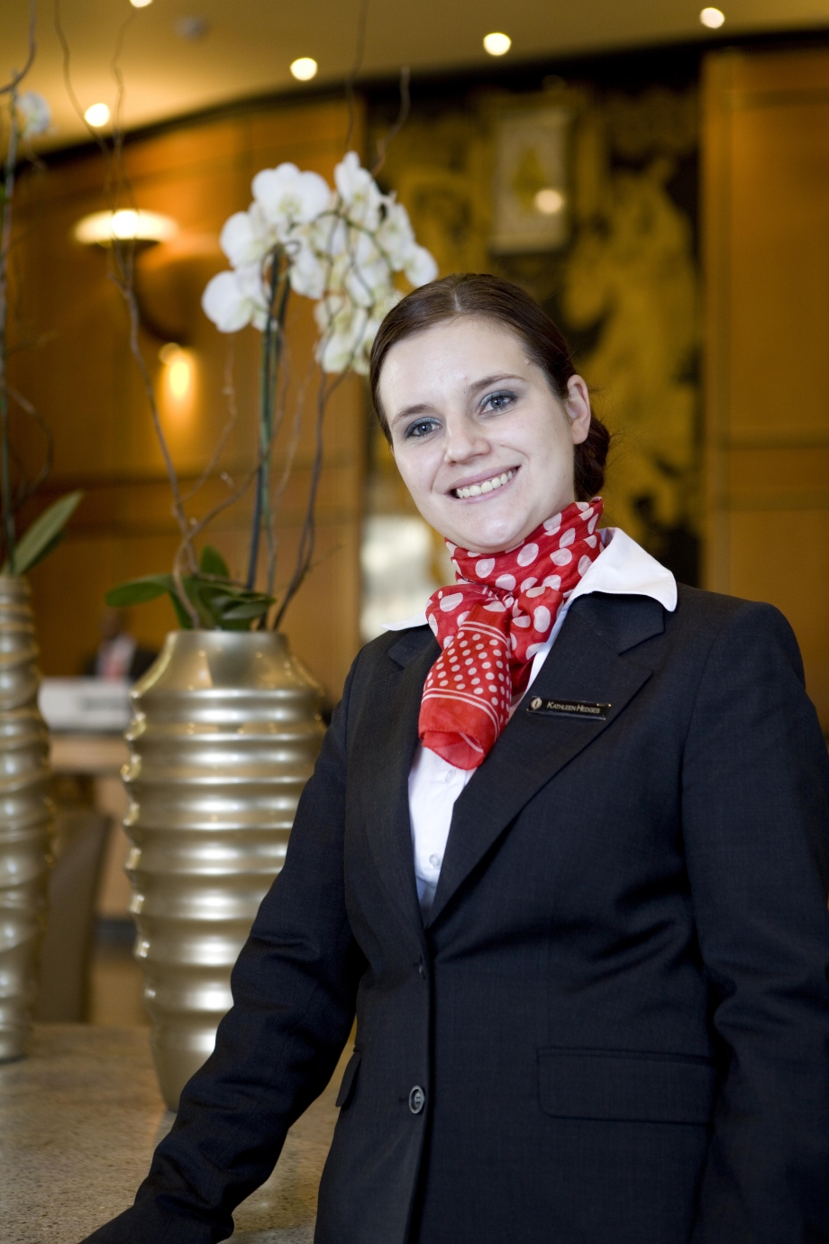Kathleen Hedges, Head Concierge of InterContinental Johannesburg Sandton Towers - AspirantSG