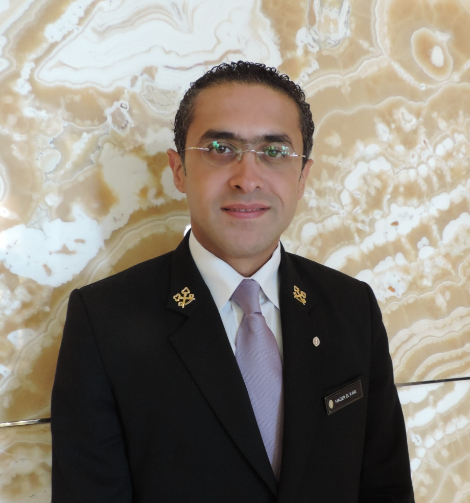 Nader El Kari Intercontinental Hotel Abu Dhabi - AspirantSG