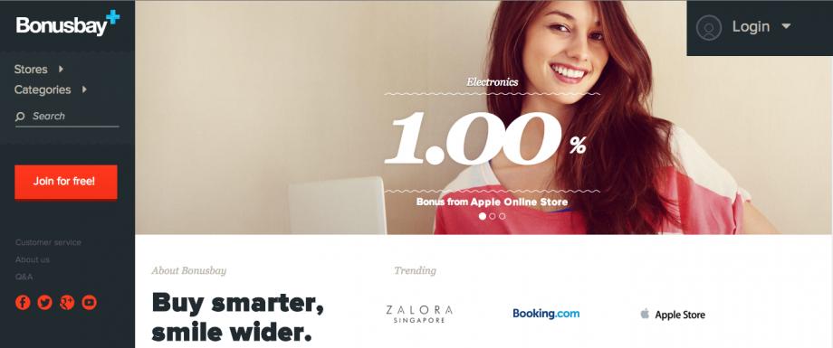 Bonusbay - Smart Cashback For Online Shoppers