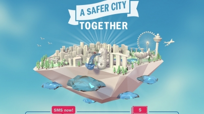 AXA Born To Protect – You Can Make Singapore A Safer City