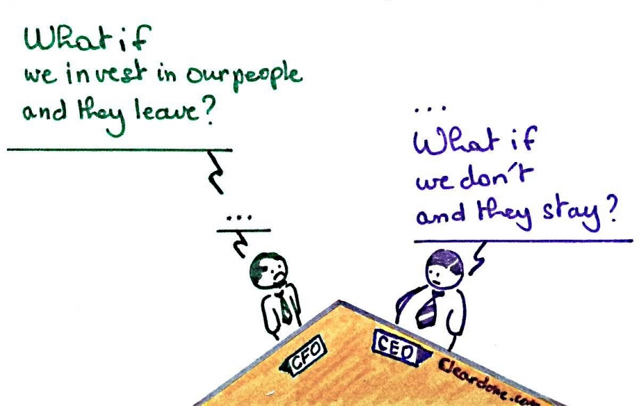 CEO Vs CFO On Training - AspirantSG