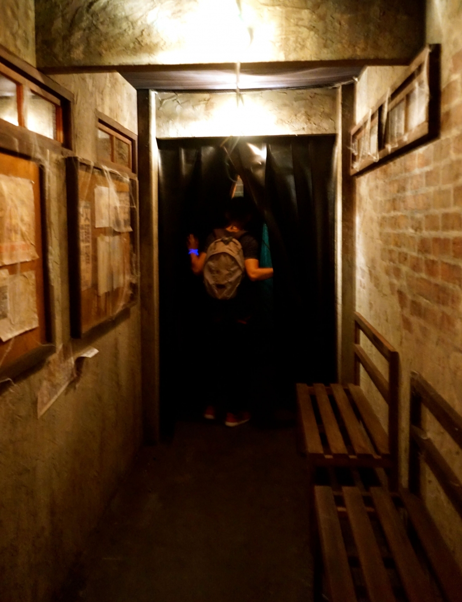 Corridor In Jing's Revenge Halloween Horror Nights 4 - AspirantSG
