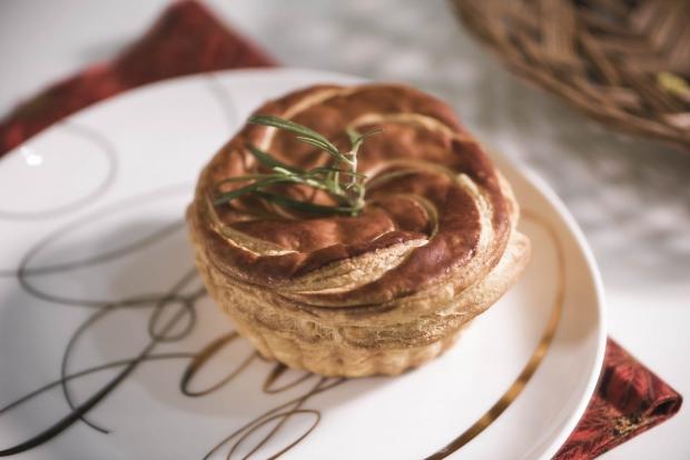 Starbucks Singapore Triple Turkey Pie - AspirantSG