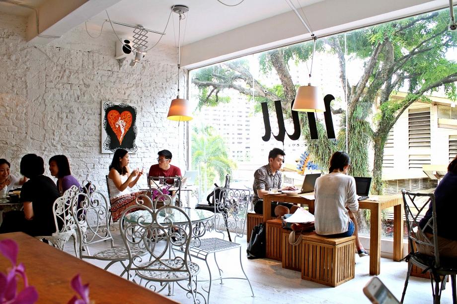 Mu Parlour Cafe Singapore - AspirantSG