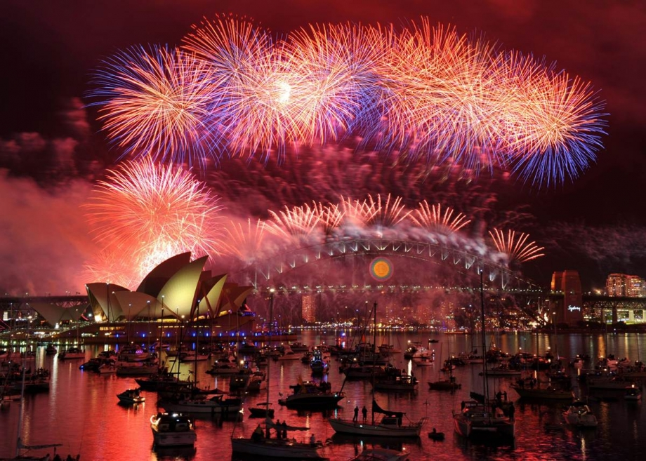 New Year Countdown 2015 Sydney - AspirantSG