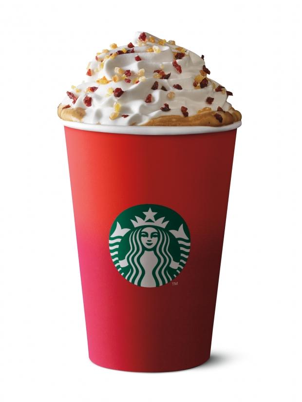 Christmas Panettone Latte Starbucks Singapore - AspirantSG
