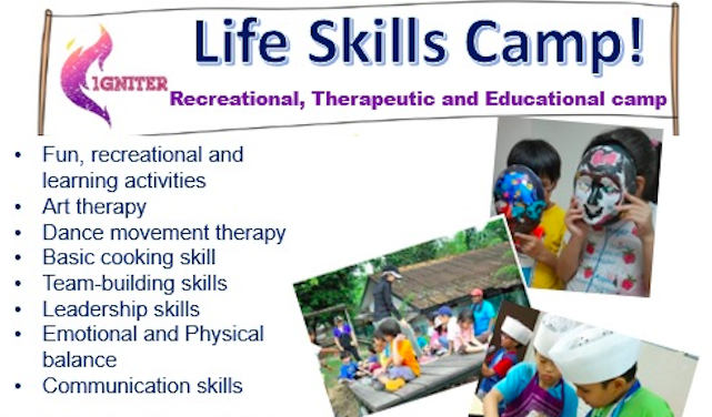 Life Skill Camp Singapore - AspirantSG