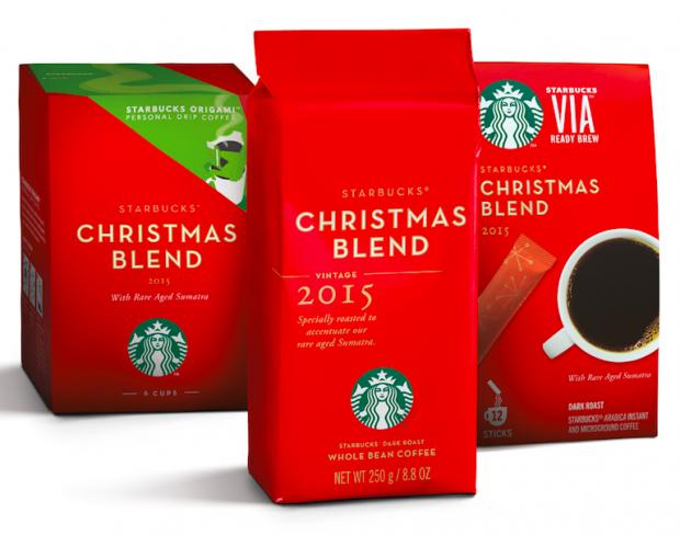 Starbucks Christmas Blend 2015 - AspirantSG