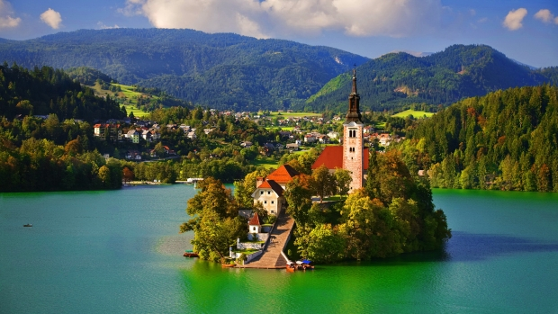 Assumption of Mary Pilgrimage Church, Lake Bled, Slovenia - AspirantSG