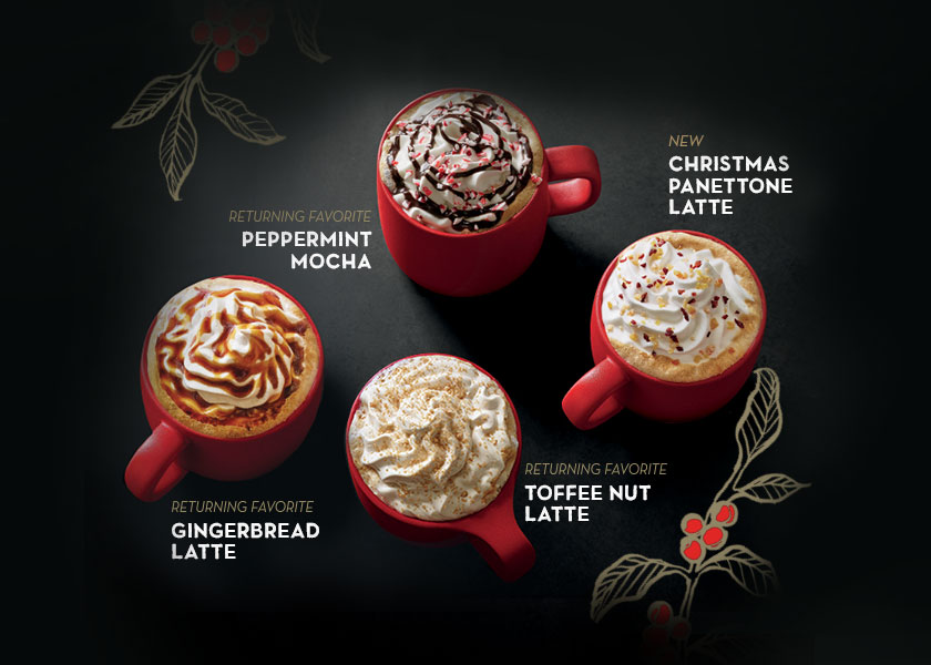 Starbucks Christmas Cups 2019.Starbucks Singapore Launch Iconic Red Cups Christmas