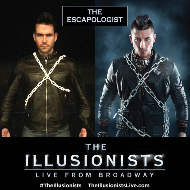 The Escapologist The Illusionists - AspirantSG