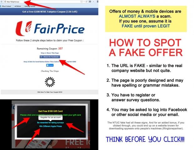 How To Spot A Scam Site - AspirantSG