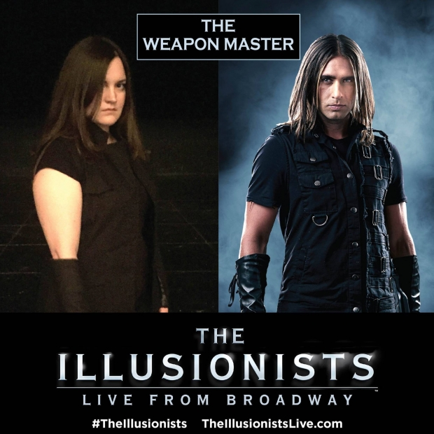The Weapon Master The Illusionists - AspirantSG
