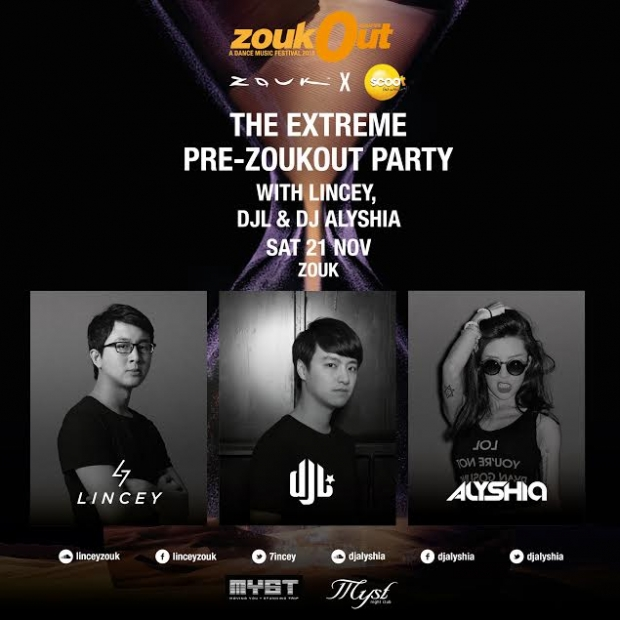 Zouk x Scoot Pre Extreme Pre-party - AspirantSG