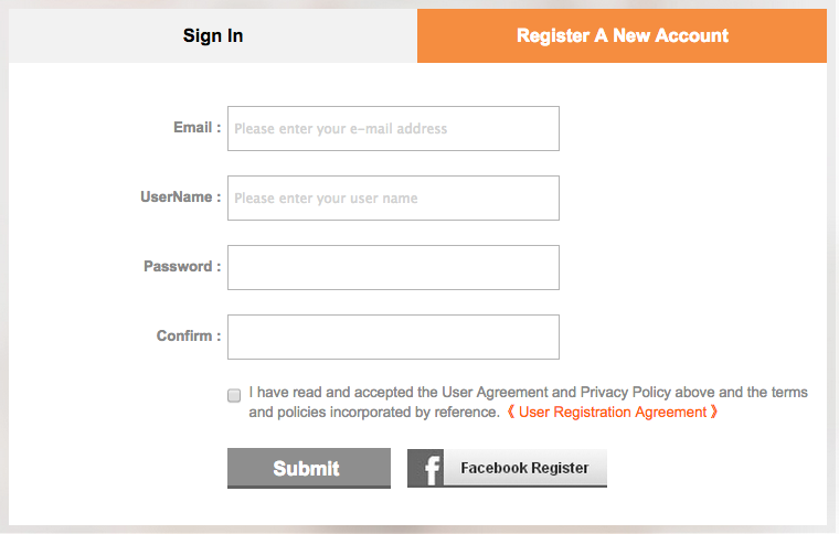 Register Your Account With SGshop - AspirantSG