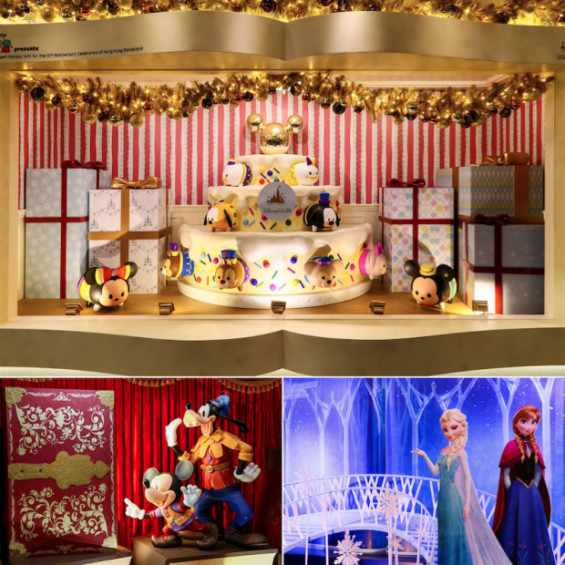Hong Kong Harbour City Disney Holiday Windows - AspirantSG