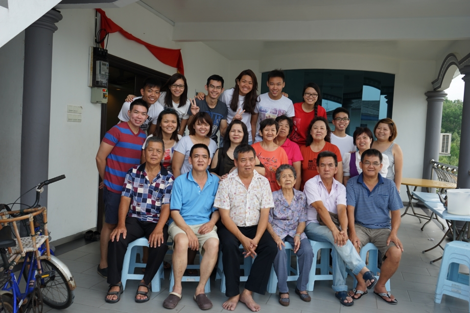 Family Group Photo For Kukup Trip 2014