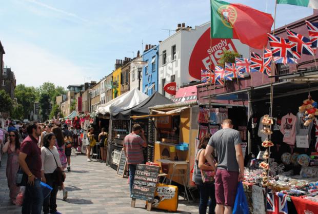 Camden Market London England - AspirantSG