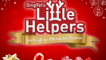 SingTel's Little Helpers Give the Gift of a Little Help This Christmas!