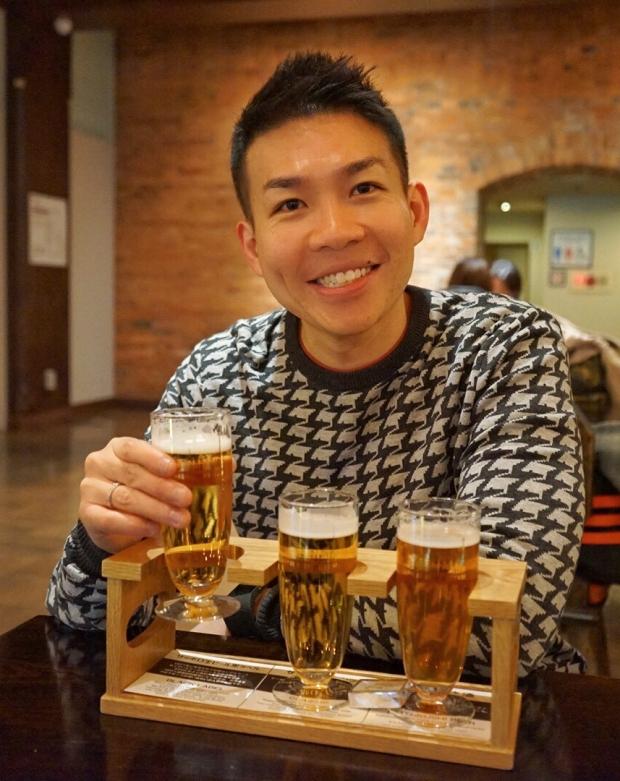 Beer Tasting At Sapporo Beer Museum - AspirantSG