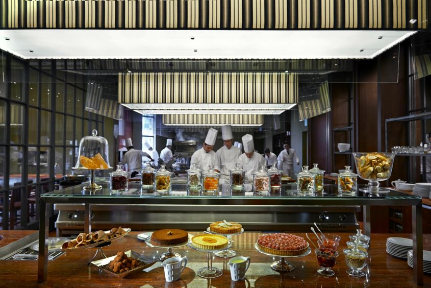 Mandarin oriental taipei serves distinctive culinary for Kitchen table taipei