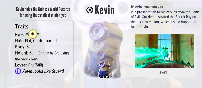 Kevin Despicable Me Minion - AspirantSG