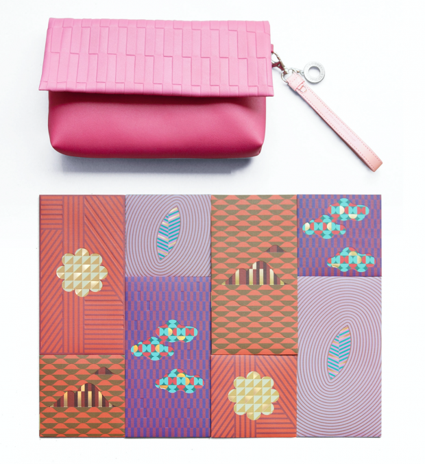 "Harbour City Limited Edition ""A NEW START‧A FRESH START"" Red Packet & Clutch Bag Set - AspirantSG"
