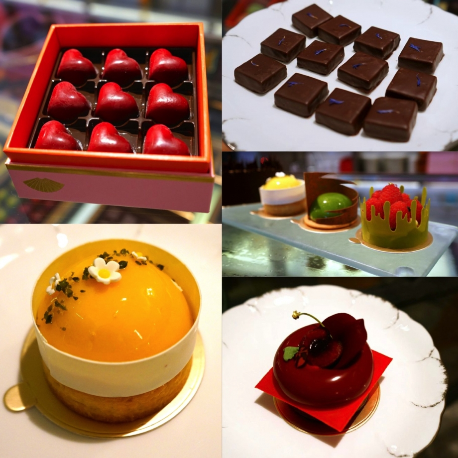 Sweets From Mandarin Oriental Cake Shop