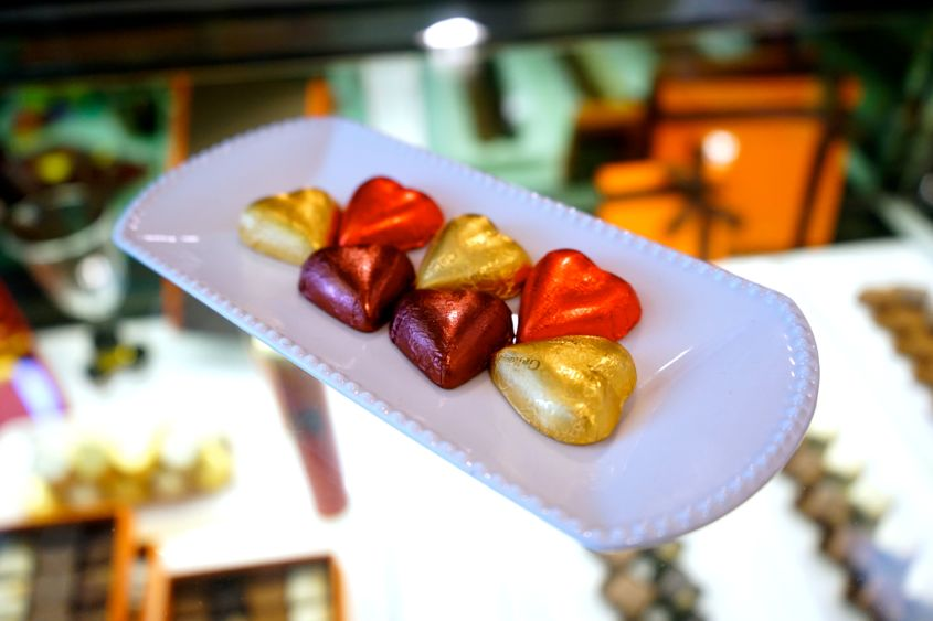 Belgium Galler Chocolatier Chocolates At Harbour City Gallery - AspirantSG
