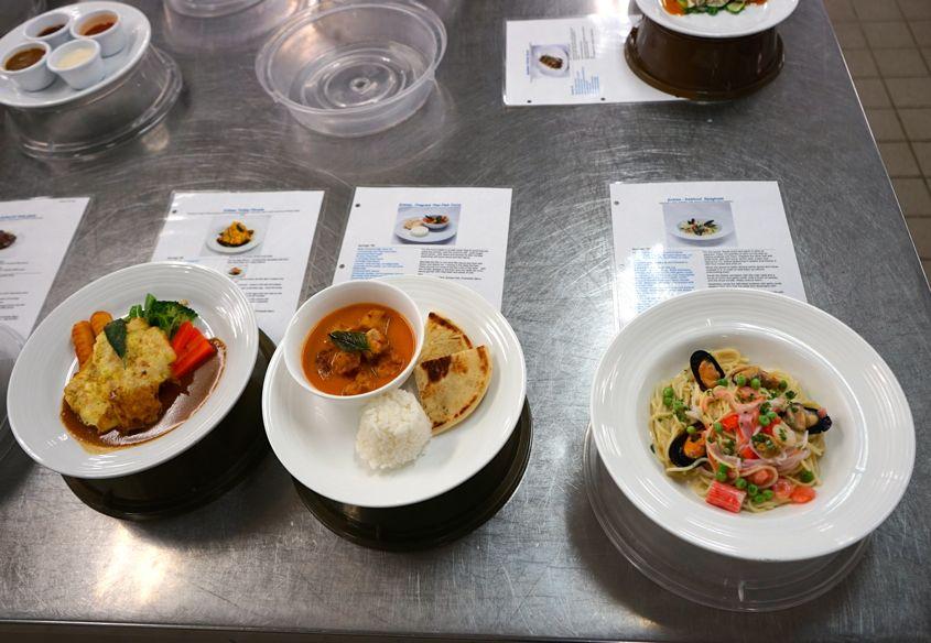 Dishes For Tasting On Mariner Of The Seas Royal Caribbean - AspirantSG