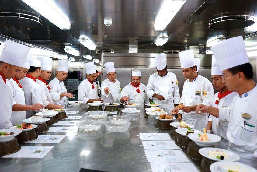 Sou Chefs Tasting Dishes On Mariner Of The Seas Royal Caribbean - AspirantSG