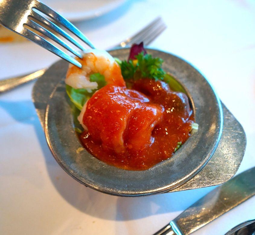 Shrimp Cocktail Served On Royal Caribbean Cruise - AspirantSG