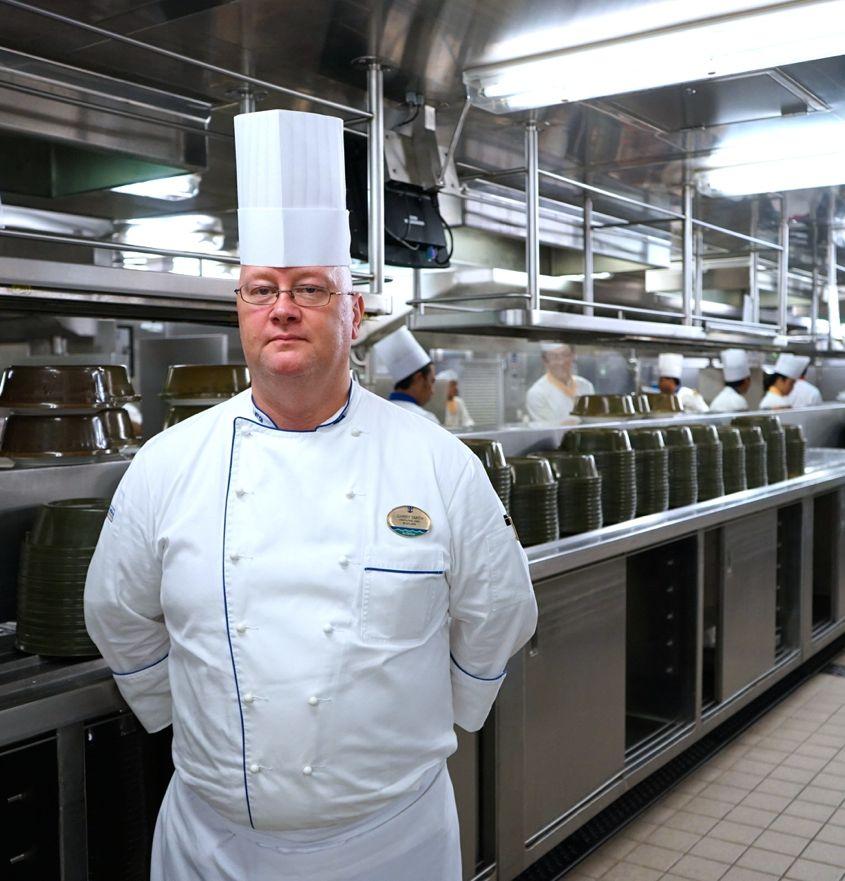 Executive Chef Garry Smith Onboard Royal Caribbean Cruise - AspirantSG